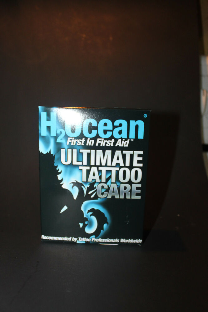 H2ocean ultimate tattoo care kit aftercare utc foam for Soap for new tattoo