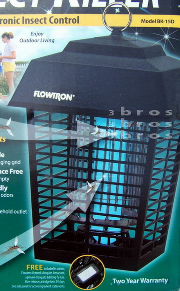 New Flowtron Electronic Insect Killer Bug Zapper Mosquito