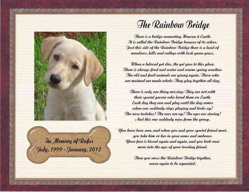 Critical image throughout rainbow bridge poem for dogs printable
