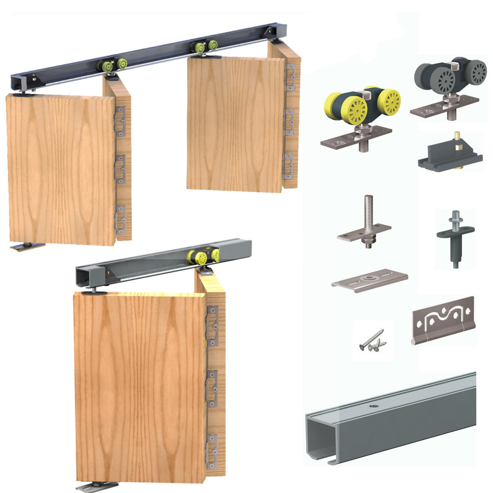 Bi Folding Doors Sliding Kit For Folding Panels 25kg Or