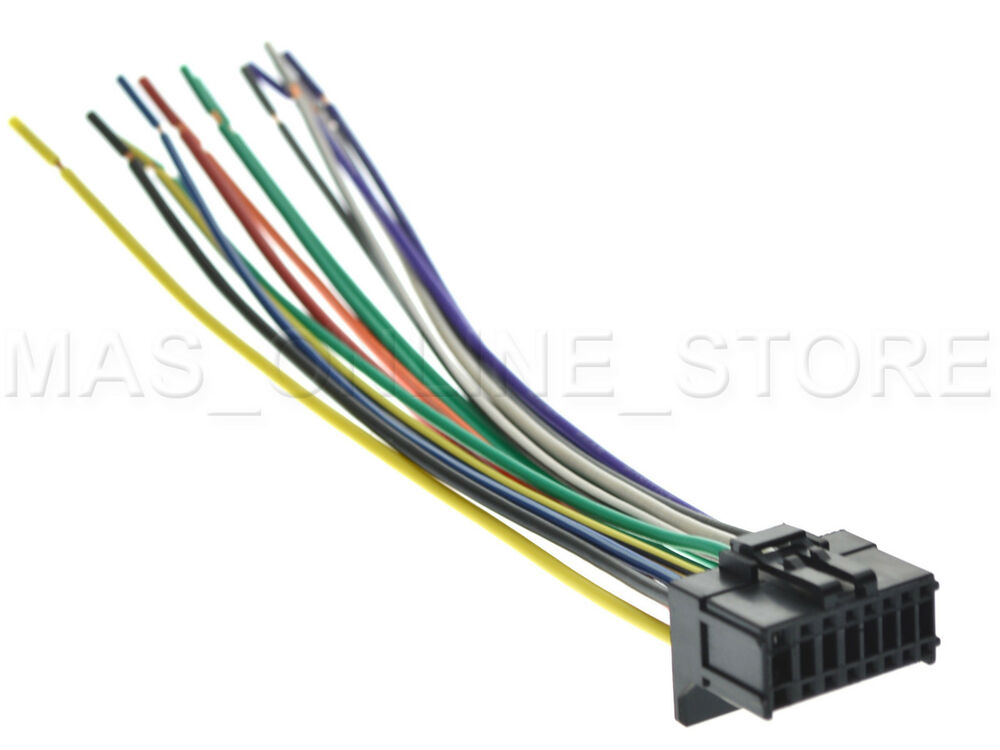 wire harness for pioneer avic z120bt avicz120bt pay today ships today ebay