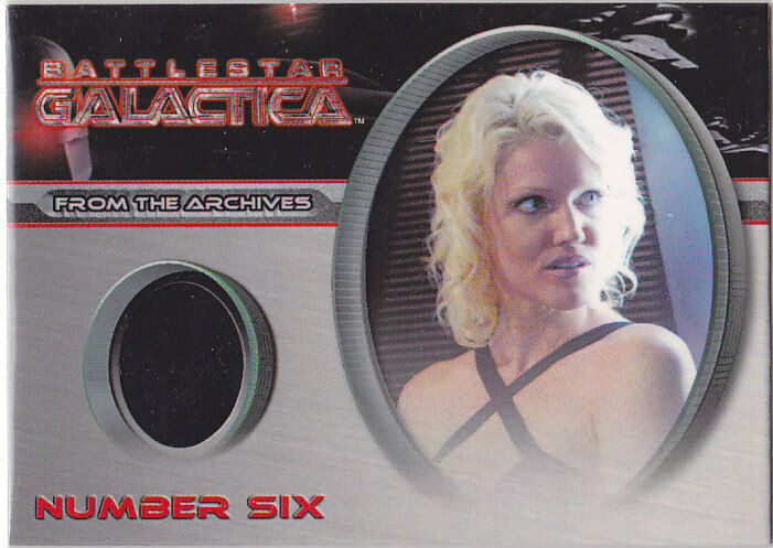 BATTLESTAR GALACTICA SEASON 2 BINDER COSTUME CC31 NUMBER ...