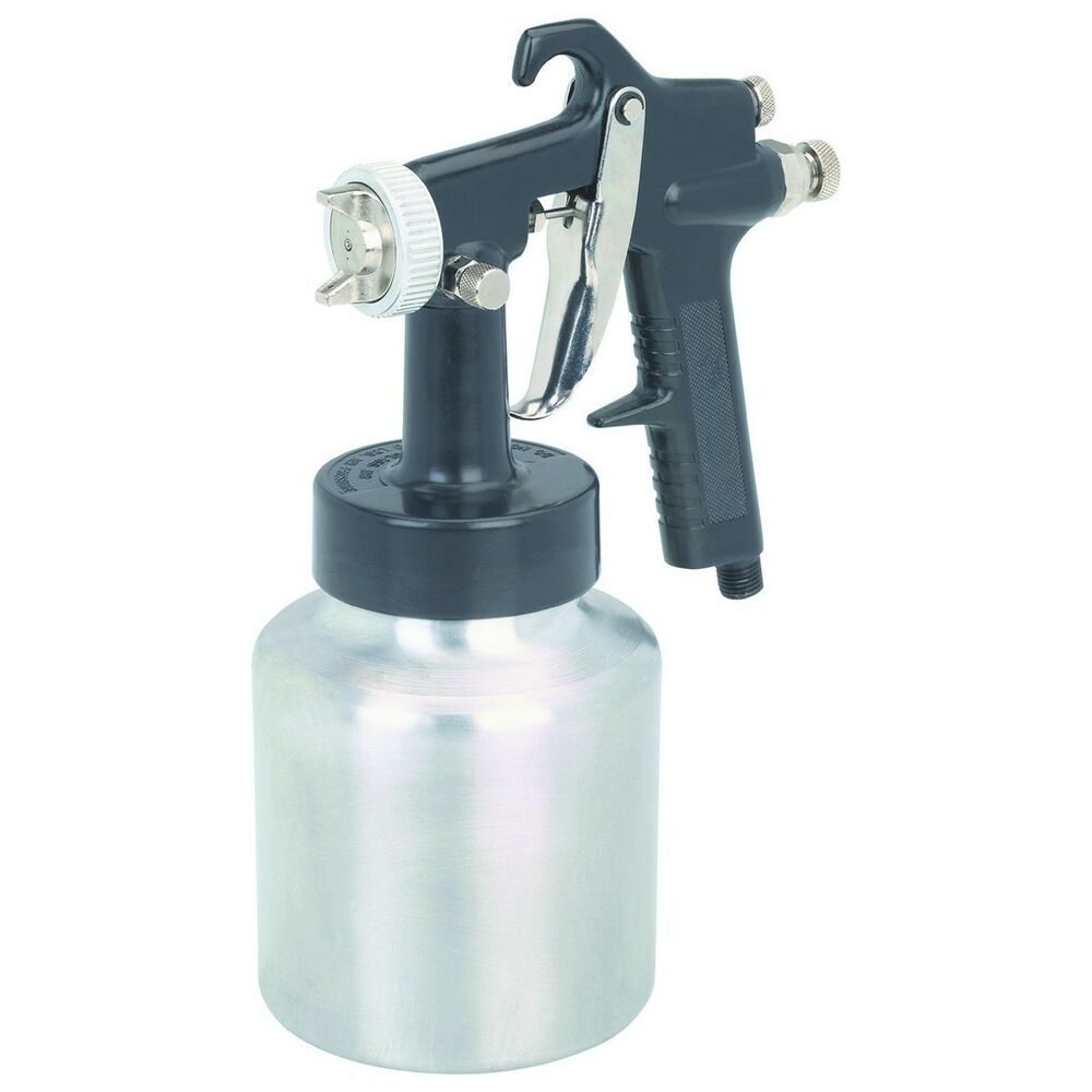 central pneumatic industrial air paint spray gun nib ebay. Black Bedroom Furniture Sets. Home Design Ideas