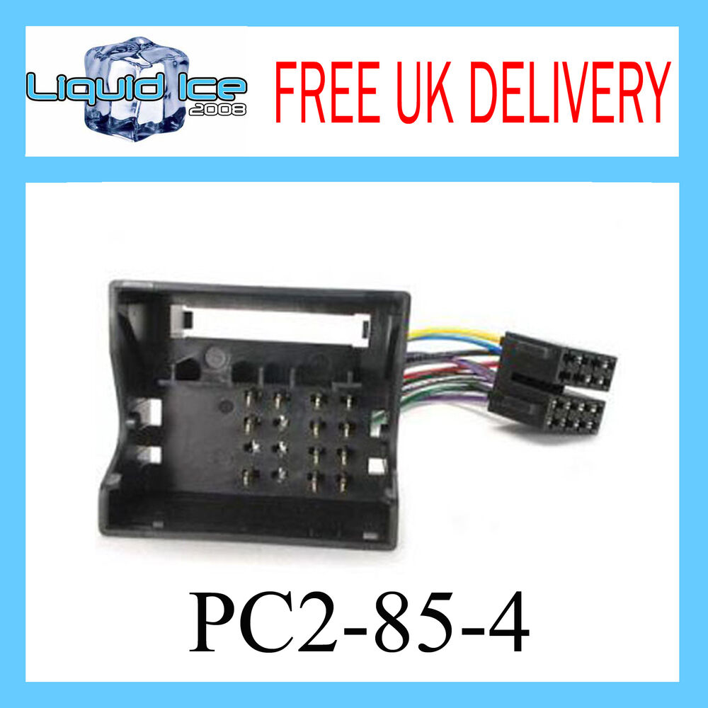 pc2 85 4 vauxhall vectra 2005 onwards iso stereo head unit. Black Bedroom Furniture Sets. Home Design Ideas