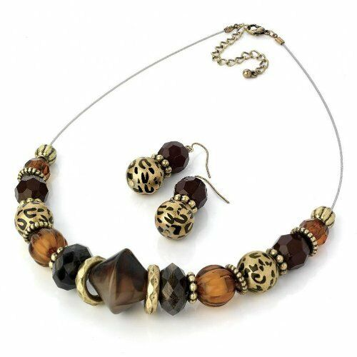 ethnic gold brown leopard cheetah animal print