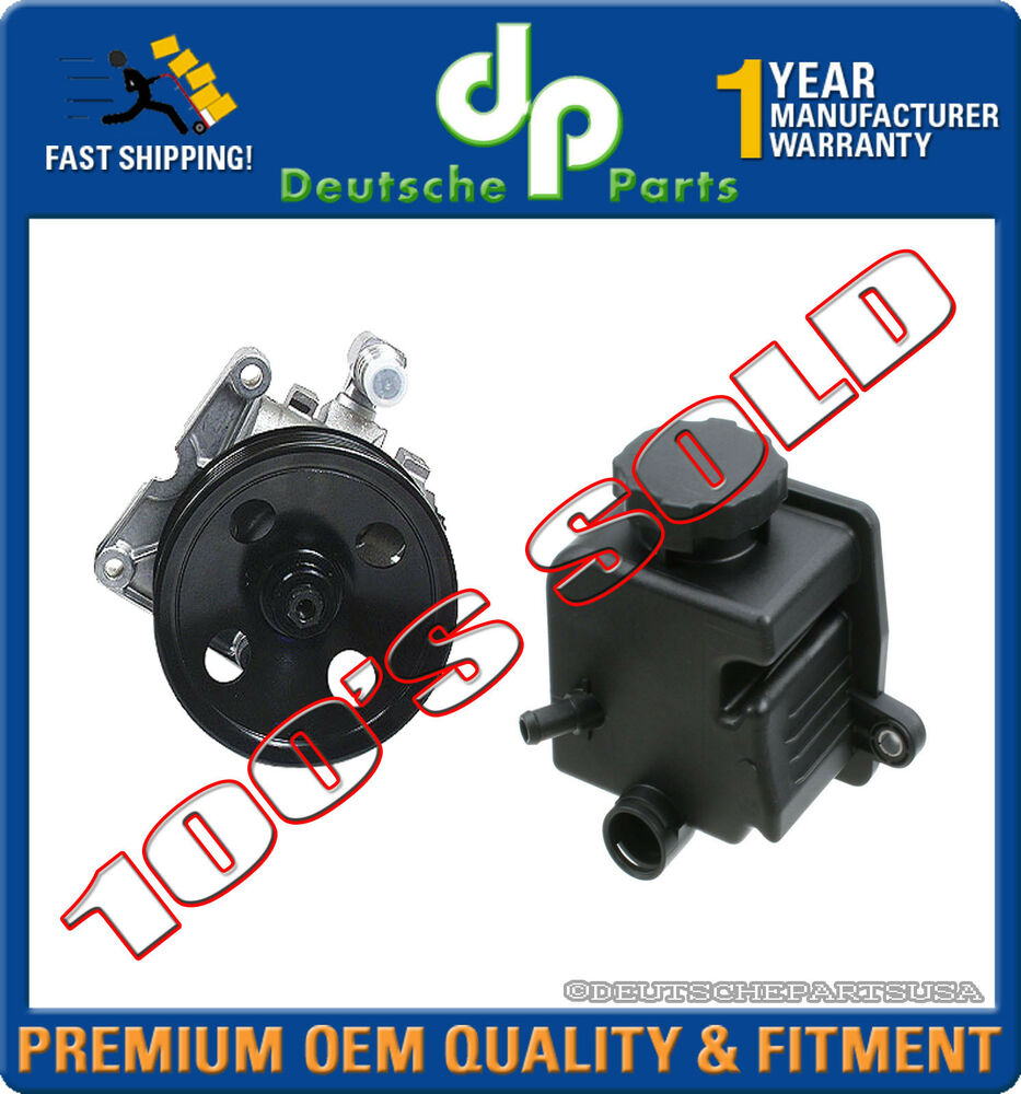 Mercedes w163 power steering pump with p s reservoir tank for Mercedes benz ml320 power steering fluid