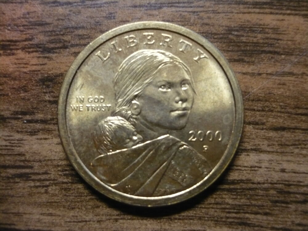 2000 p sacagawea us dollar gold coin circulated golden for 2000 dollar cabin