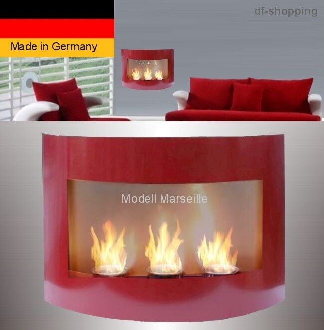 gel und ethanol kamin marseille rot gelkamin ethanolkamin bioethanol ebay. Black Bedroom Furniture Sets. Home Design Ideas