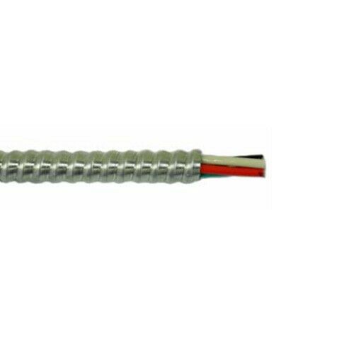 250 4 3 Wgrnd 600v Metal Clad Cable Aluminum Armor Solid
