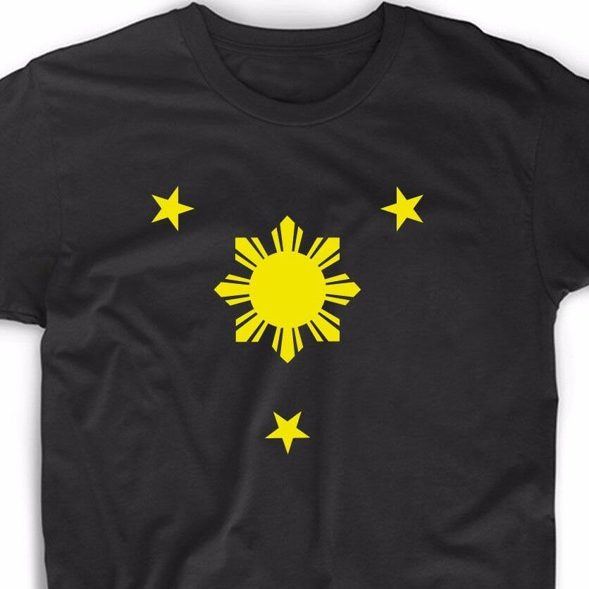 7d3efd77 Details about Philippine T Shirt Flag Filipino Pinoy Soccer Country Manila  Star Geek Funny Tee