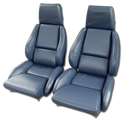 1984 1988 Corvette Leather Like Seat Covers For Standard