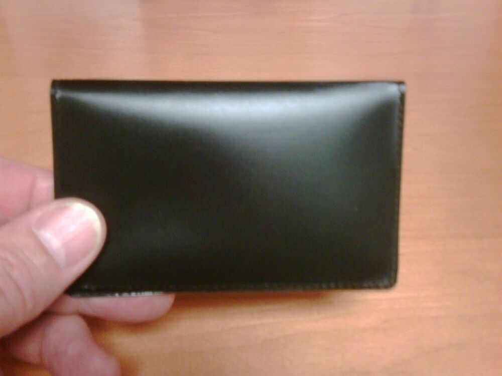 Credit Card or Business Card Holder Wallet Folio Thin ...
