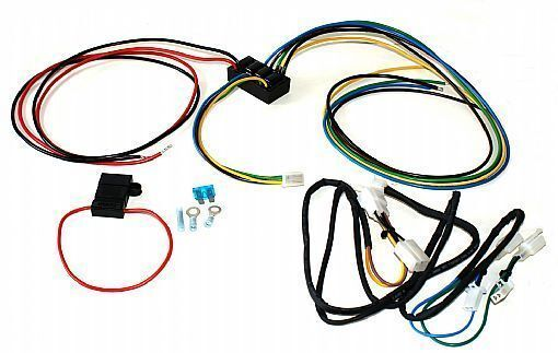 Add on isolated trailer wire harness gl