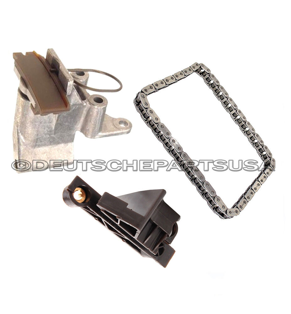 CAMSHAFT TIMING CHAIN TENSIONER + CHAIN + GUIDE RAIL KIT 3