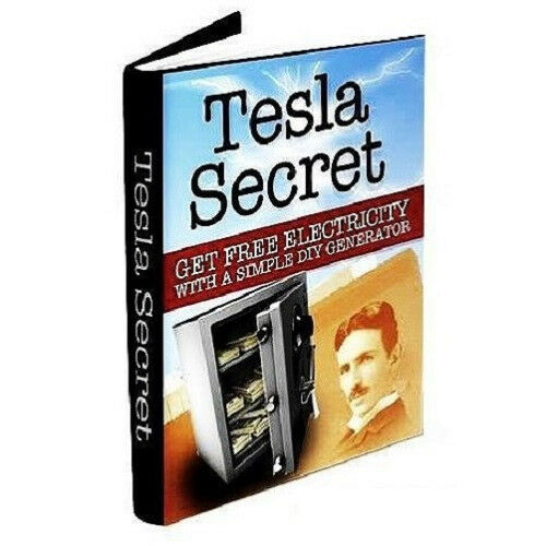 Book Nikola Tesla Secret Generator free energy Blueprints coil power ...