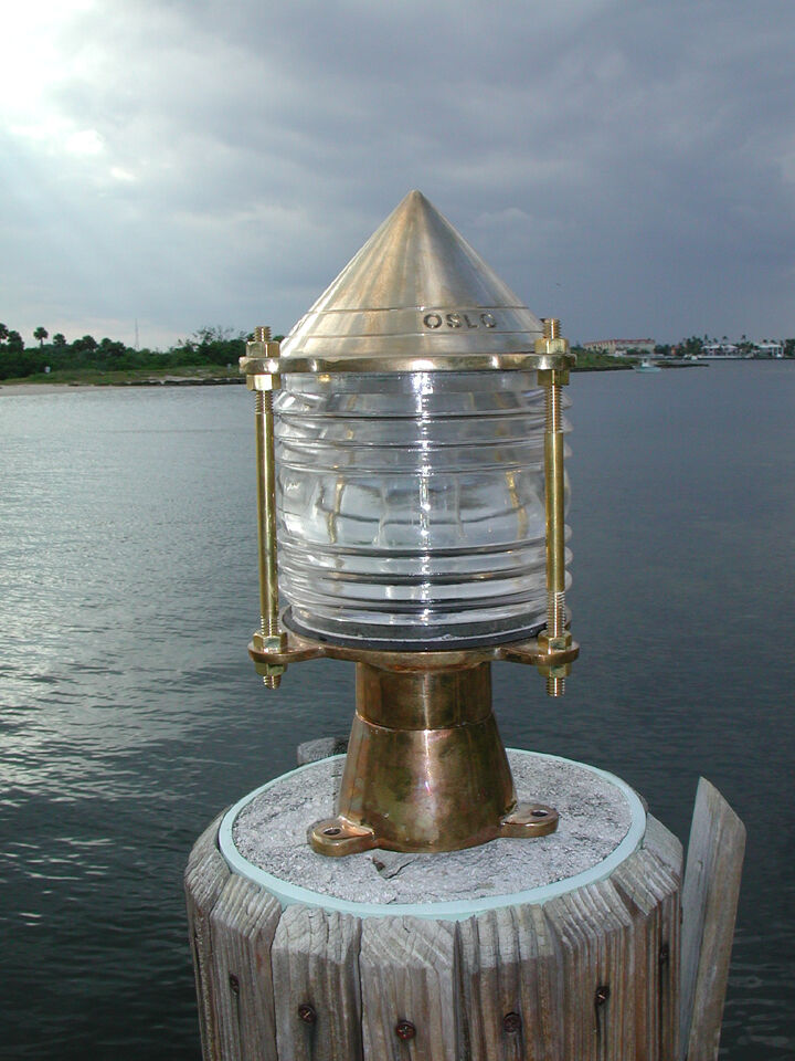 key west nautical bronze piling nautical dock light - marine ship, Reel Combo