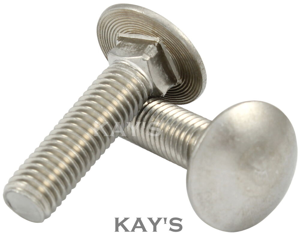 carriage bolts cup square dome coach screws a2 stainless. Black Bedroom Furniture Sets. Home Design Ideas