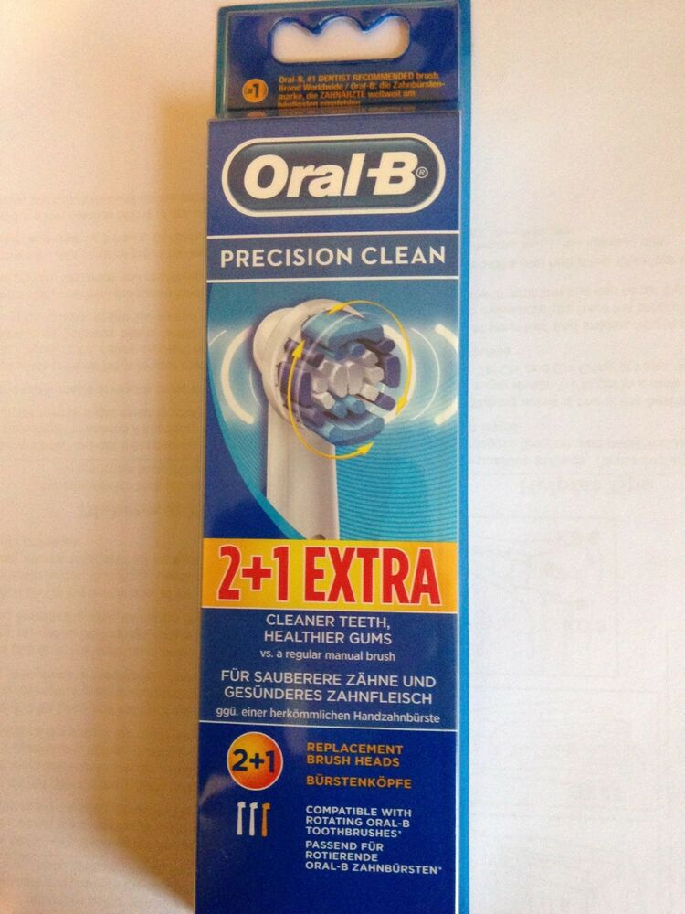 braun oral b eb20 2 1 extra precision clean replacement. Black Bedroom Furniture Sets. Home Design Ideas