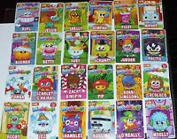 MOSHI MONSTERS MOSHLING NEW SERIES 4 ROX CODE CARDS Choose Pick  FREE P&P UK
