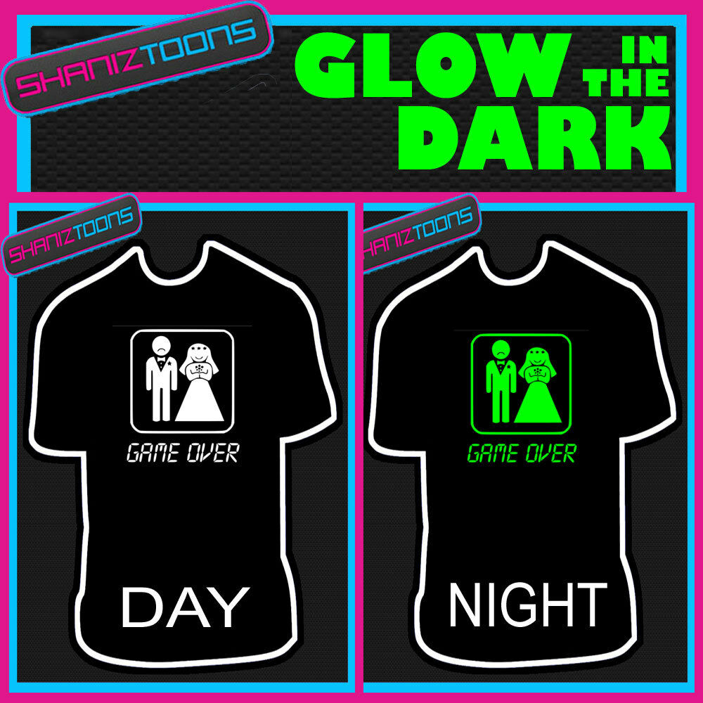 Funny Wedding Gifts For Groom: GAME OVER GROOM STAG PARTY FUNNY WEDDING GIFT GLOW IN THE