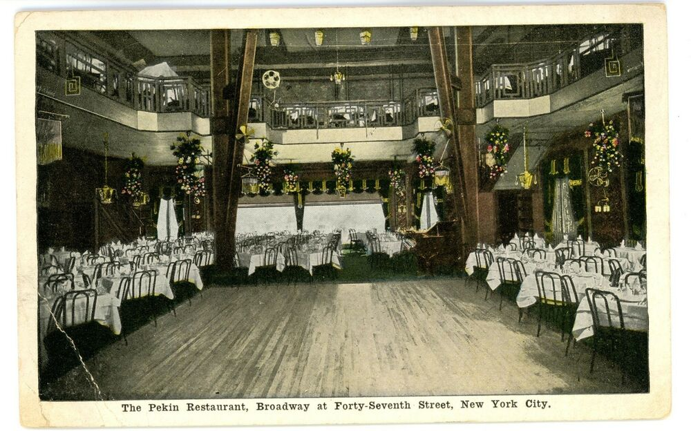Nyc Restaurant Postcard