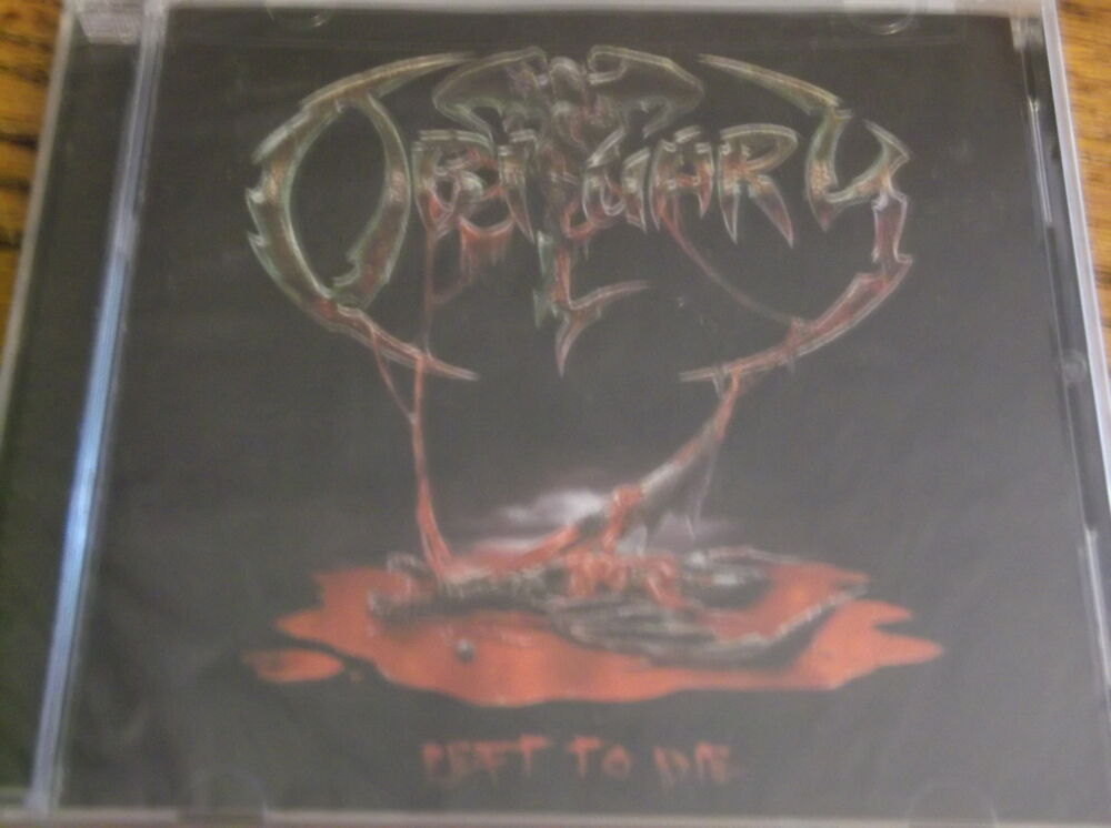 left to die ecd by obituary new sealed cd metal