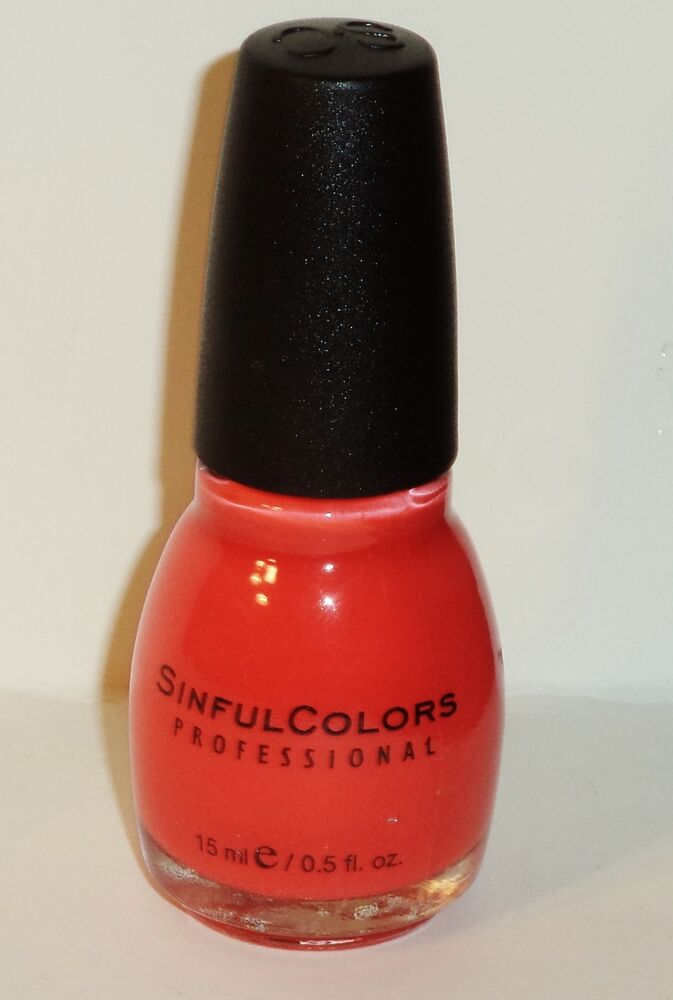 1 Sinful Colors Professional Nail Enamel Nail Polish