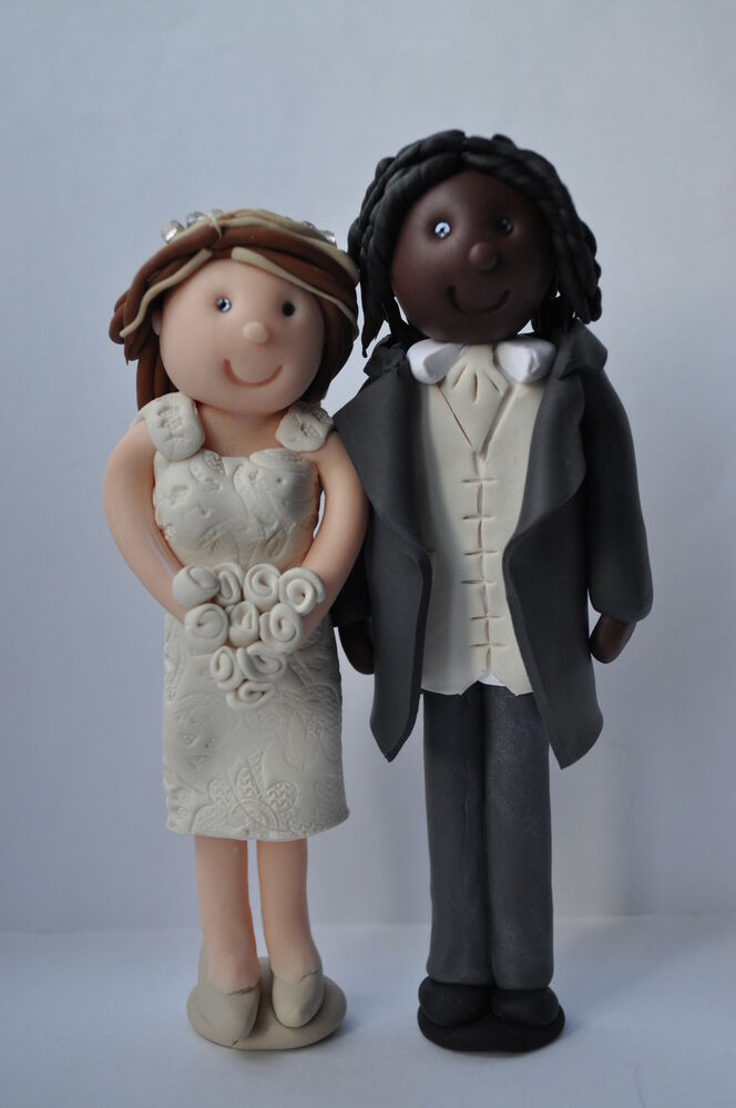Cake Toppers Uk Bride And Groom : Personalised Bride and Groom Wedding Cake Toppers - Mixed ...