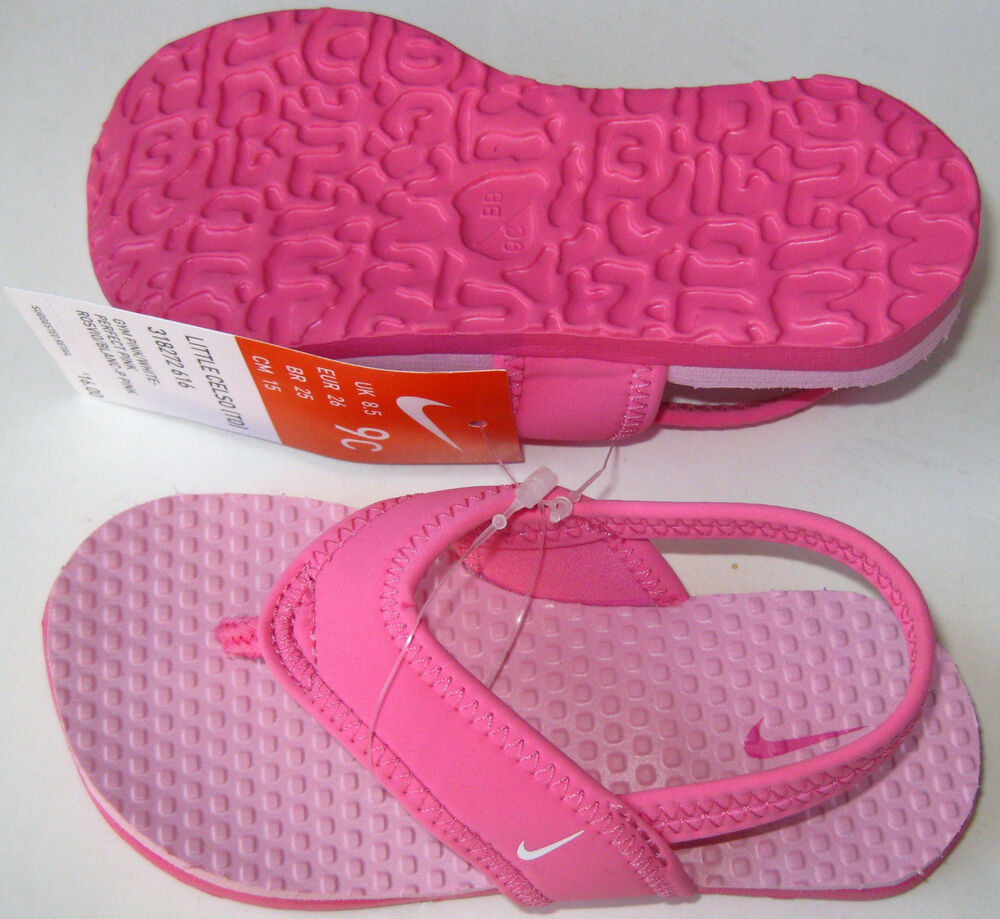New Nike Little Celso TD Baby toddler Girl sandals Size