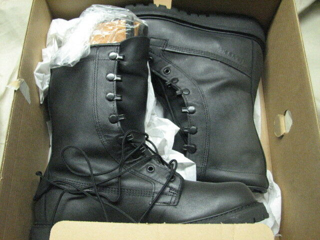 Us Military Bates Cw 5 1 2 Xw Boots Work Army All Leather