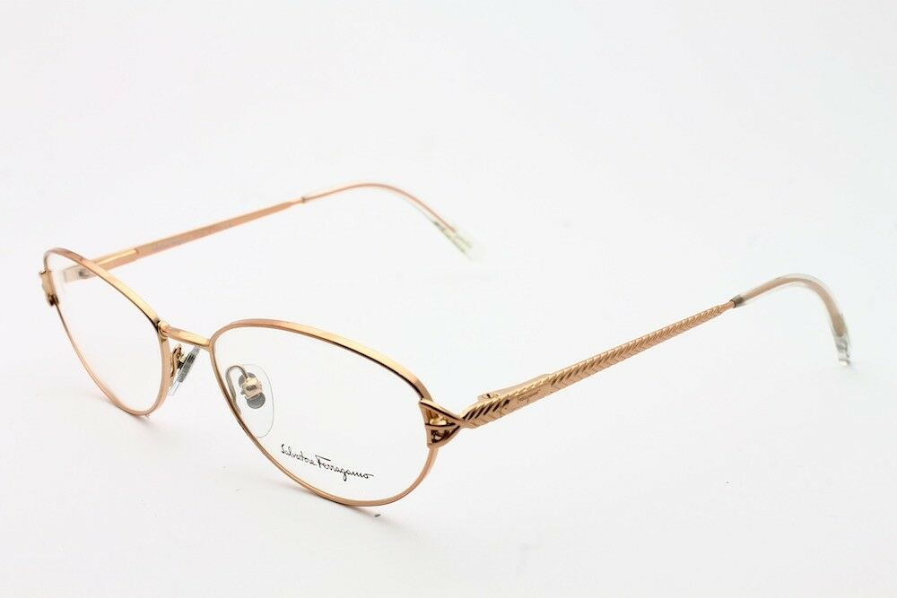 What Eyeglass Frame Size Am I : VINTAGE SALVATORE FERRAGAMO 1579 651 EYEGLASS FRAME SIZE ...