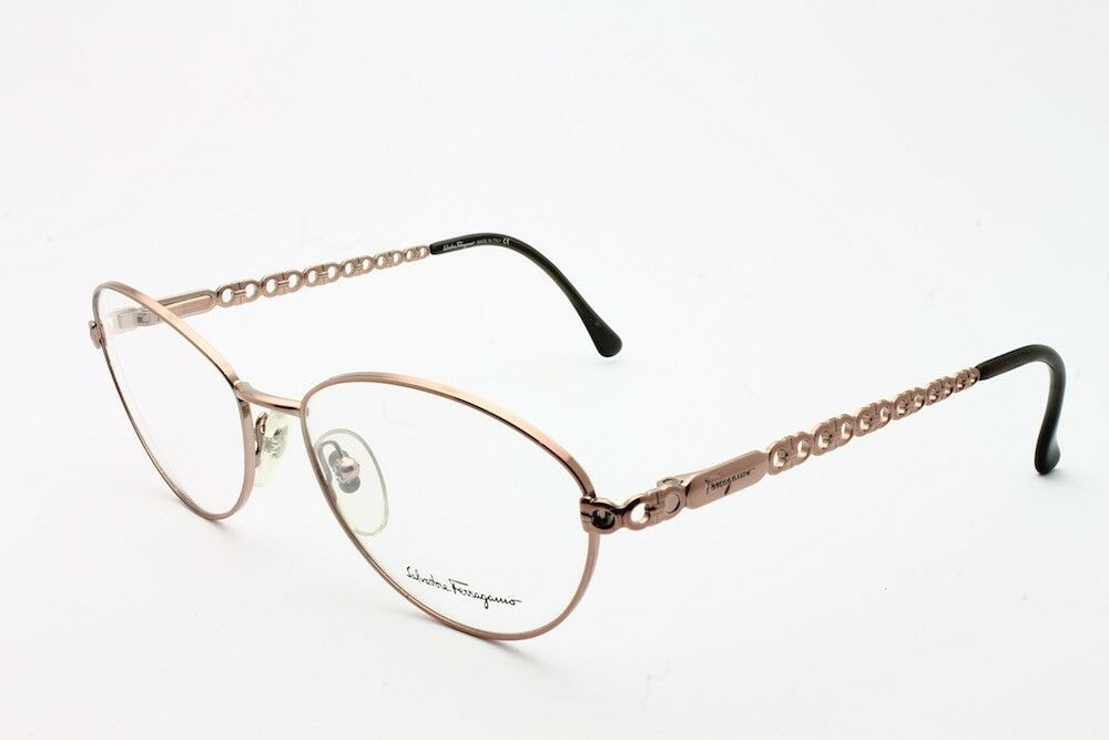 What Eyeglass Frame Size Am I : VINTAGE SALVATORE FERRAGAMO 1532 576 EYEGLASS FRAME SIZE ...