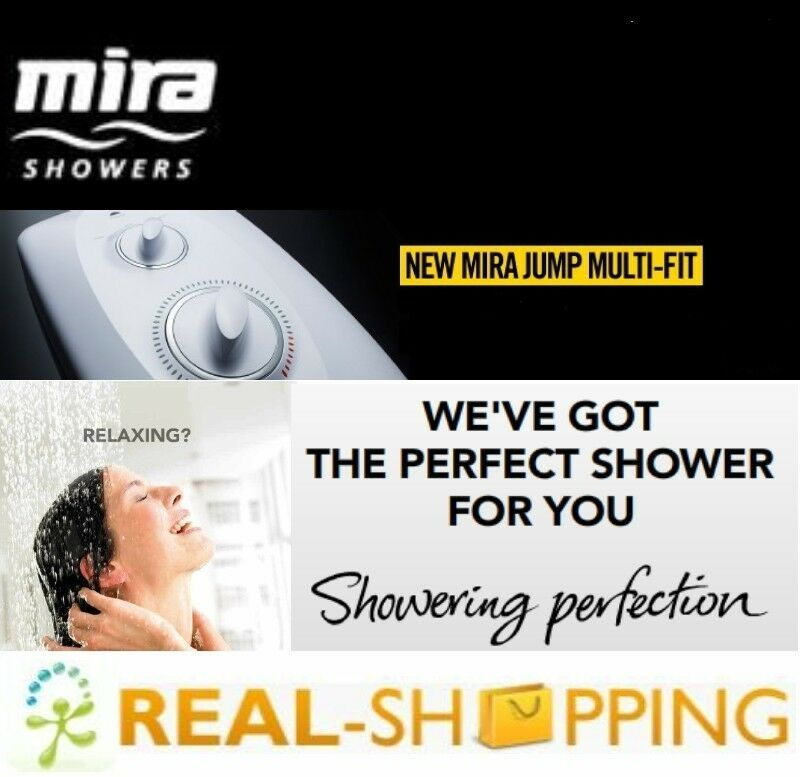 Mira Jump Multi Fit 8 5kw Electric Shower White Amp Chrome