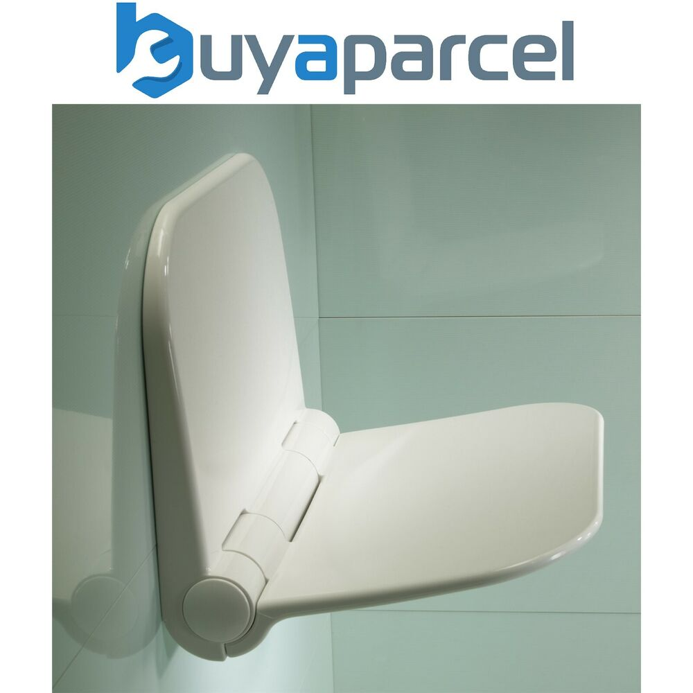 Roper Rhodes Wall Mounted Shower Seat Fold Away Easy Clean Max 160kg 25 Stone Ebay