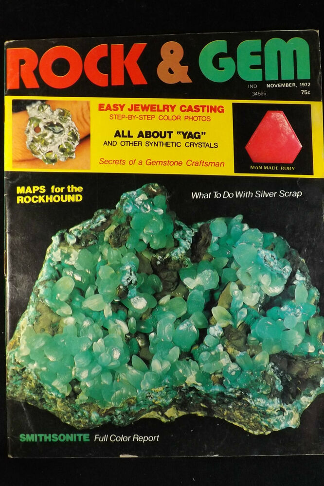 Rock And Gem Magazine Back Issues See The List Ebay