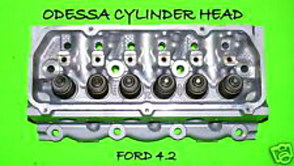 ford f150 taurus sable freestar 4 2 ohv cylinder head. Black Bedroom Furniture Sets. Home Design Ideas