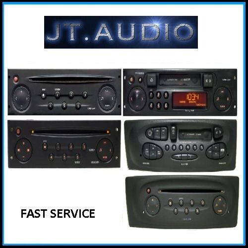 renault car radio stereo code decode recode service clio. Black Bedroom Furniture Sets. Home Design Ideas