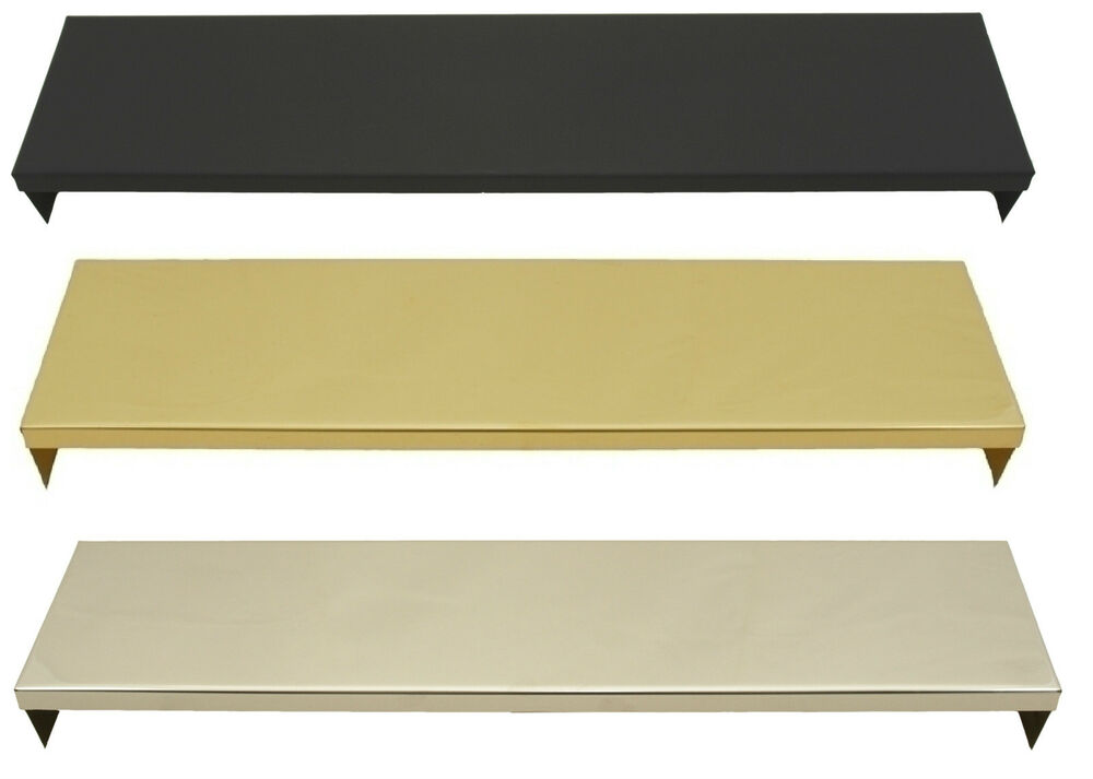 16 Quot Amp 18 Quot Inch Smoke Canopy Brass Black Stainless Steel