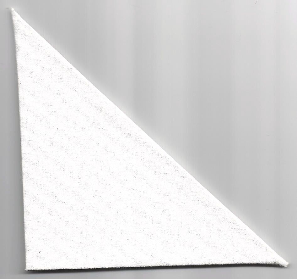 10 triangle professional artist blank canvas panels mini tri angle art canvases ebay. Black Bedroom Furniture Sets. Home Design Ideas