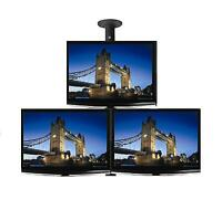 "Triple 26"" LCD & LED TV / Monitor Single Pole Ceiling Mount - Professional Grade"