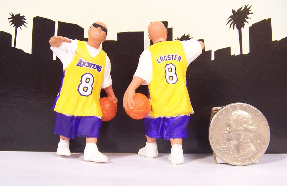Lil Locsters Series # 4 Player Basketball Lakers Homies ...
