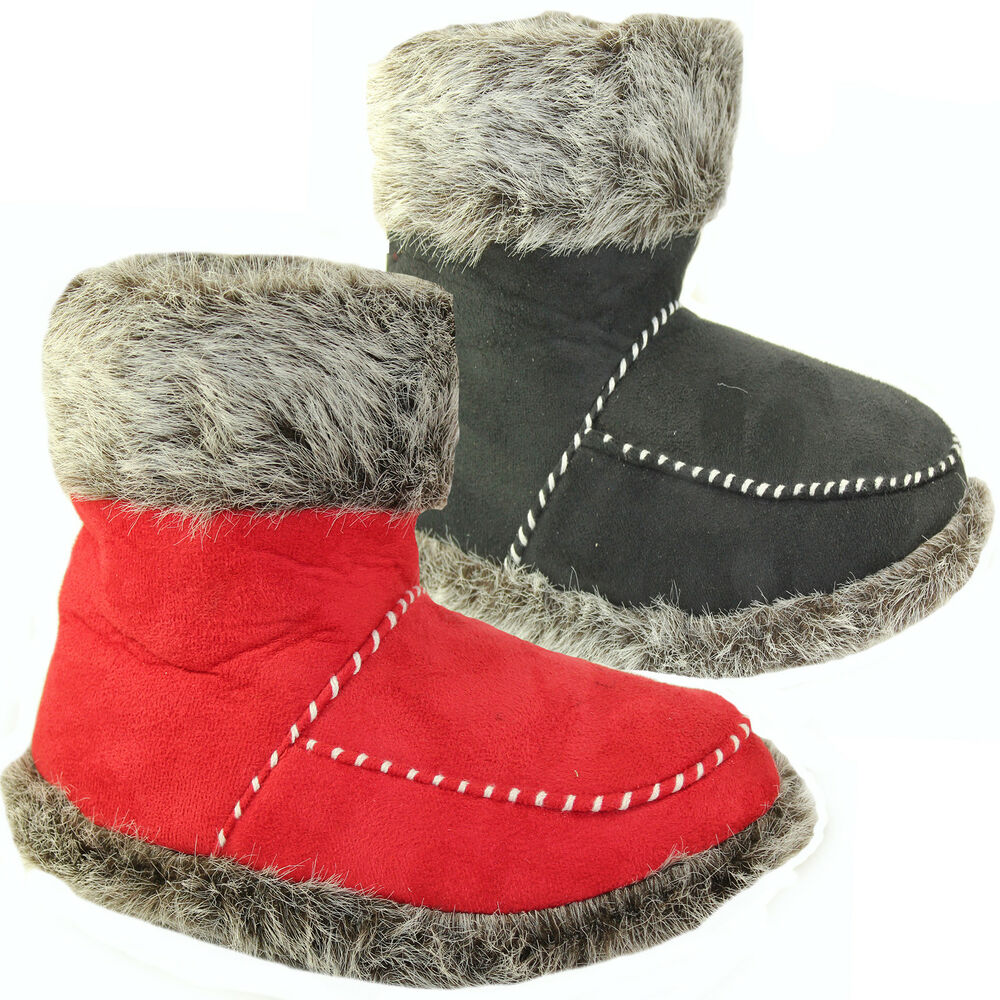 slipper boots womens slippers winter warm fur