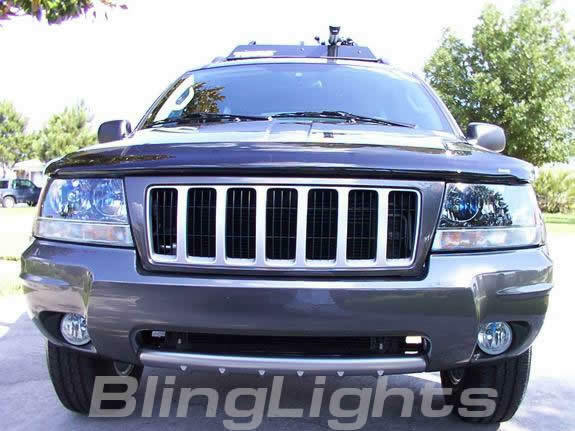 Led Fog Lights For Jeep Grand Cherokee : Jeep grand cherokee xenon fog lights lamps