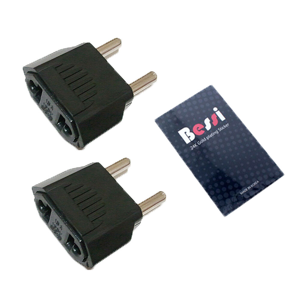 Travel Adapter Flat Plug From V To V Usa