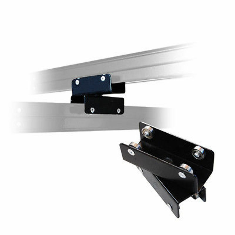 2x Pro Photo Studio Ceiling Rail Track System Double