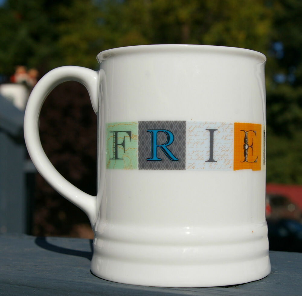 Friendship Coffee Mug By Fringe Studio Cup Close Best