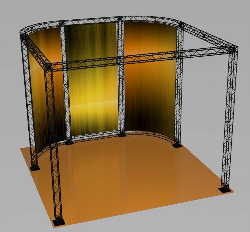 Portable Exhibition Booths : Crosswire portable banner stand exhibit booth