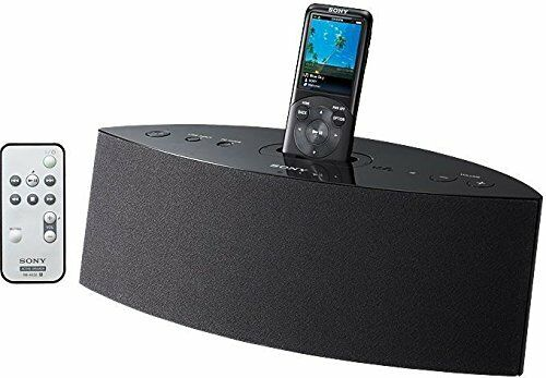 new sony walkman stereo sound speaker input mp3 players rdp nwd300 ebay. Black Bedroom Furniture Sets. Home Design Ideas