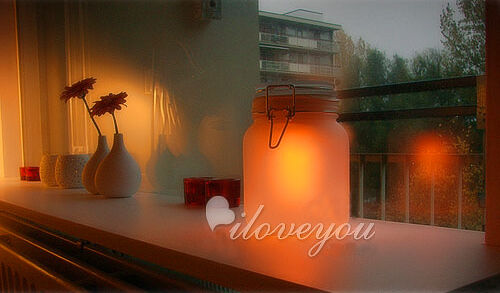 sprechendes einmachglas gadget geschenk lampe licht solar ebay. Black Bedroom Furniture Sets. Home Design Ideas