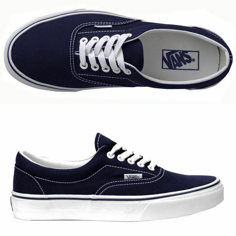 14058f1c1a Details about VANS SHOES ERA NAVY SKATE SKATEBOARD SNEAKERS KINGPIN STORE FREE  POST